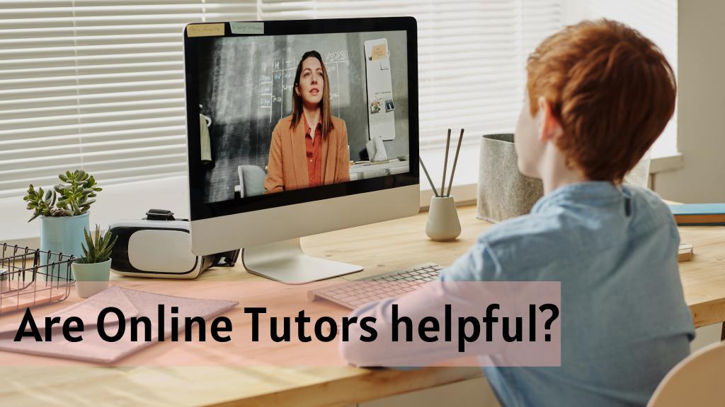 Is online tutoring effective