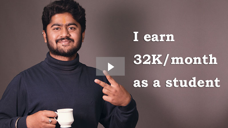 'I earn 32K/month as a student' - Badal Singh
